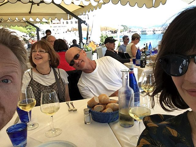 Family + Mediterranean = So good.  This mom tried some foods she's always been terrified of. If this vacation only showed her one new food it would be worth it. #itwasworthit #tuscany #vancouverdietitian