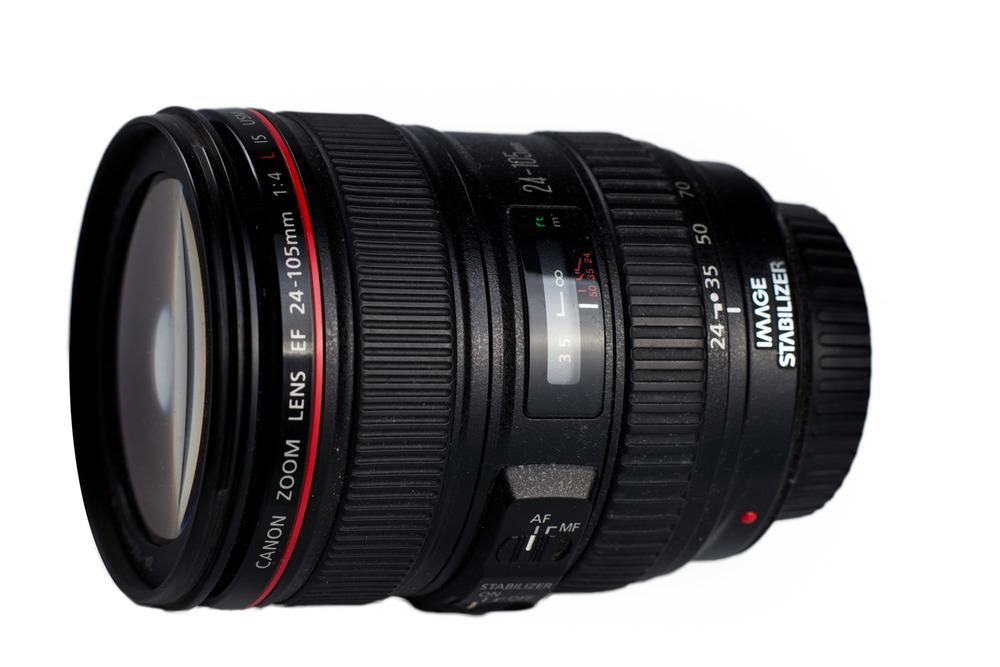 Schon etwas in die Jahre gekommen - Das Canon EF 24-105/4 L IS, besonders beliebt für Videos bei Tageslicht