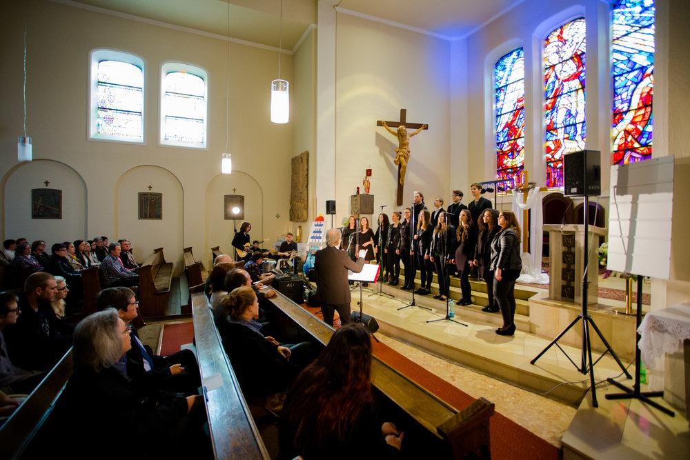BL-Gospel in der Pfarrkirche in Tadten