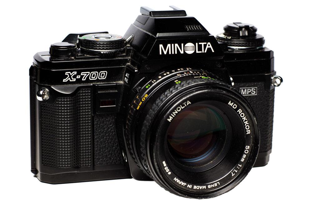 analoge Minolta SLR