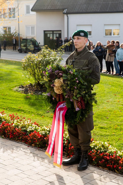 Gedenken der verstorbenen der Weltkriege
