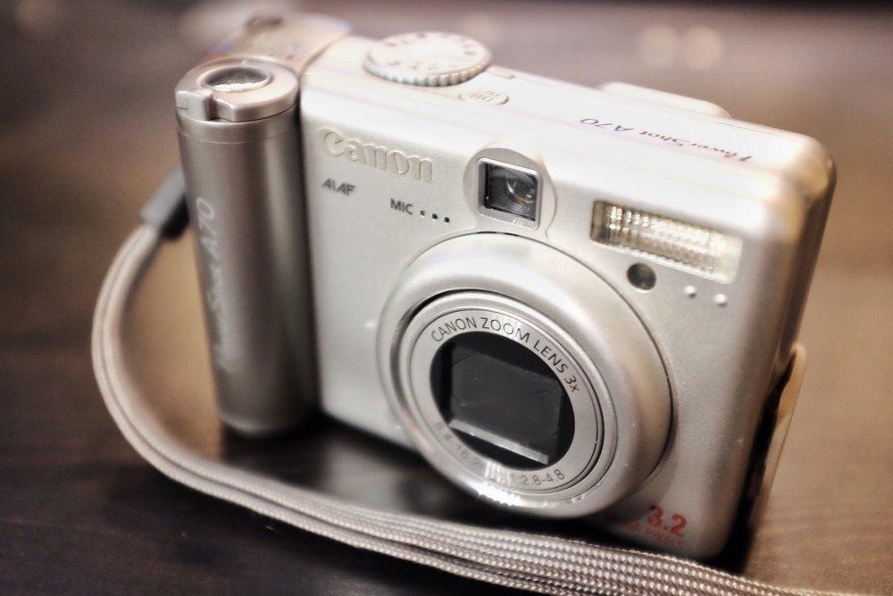 Die Canon PowerShot A70