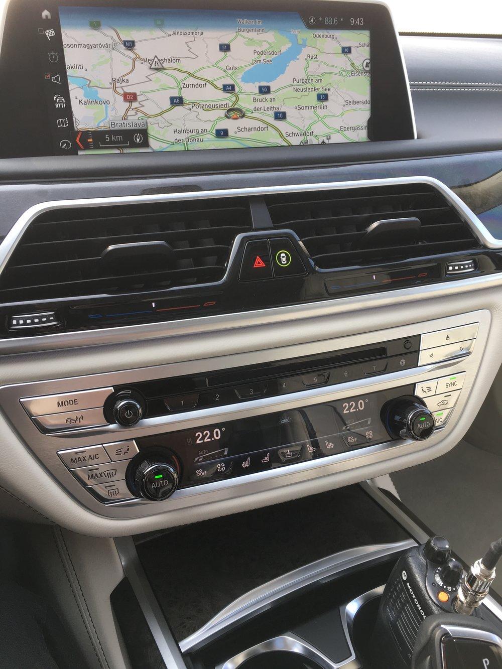 Interieur des BMW 730Le