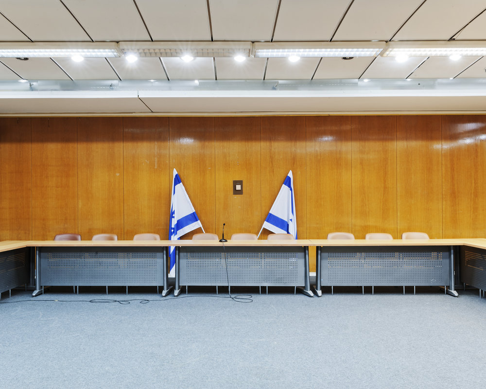 Hochsicherheits-Konferenzraum Knesset © Adam Reynolds/Edition Lammerhuber