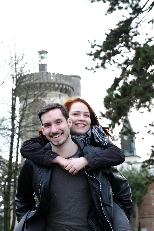 Fotoshooting mit Anne & Rene im Schlosspark Laxenburg
