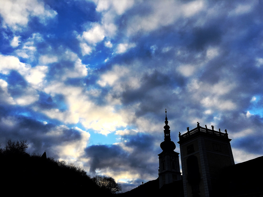 Morgenstimmung in Heiligenkreuz