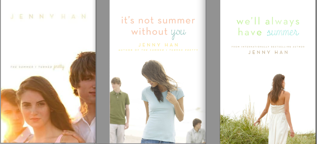 The Summer I Turned Pretty Book Cover Models : Cover stories we ll always have summer by jenny han