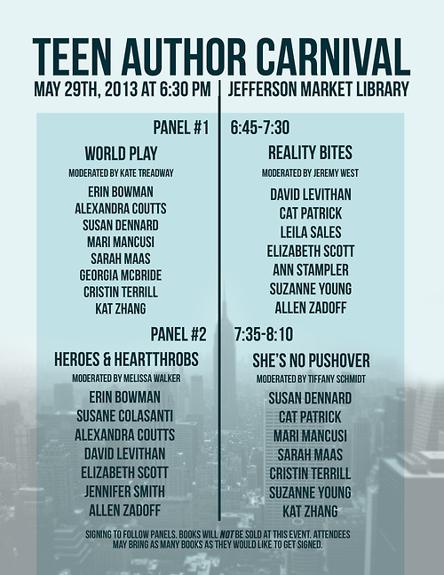 teen author carnival