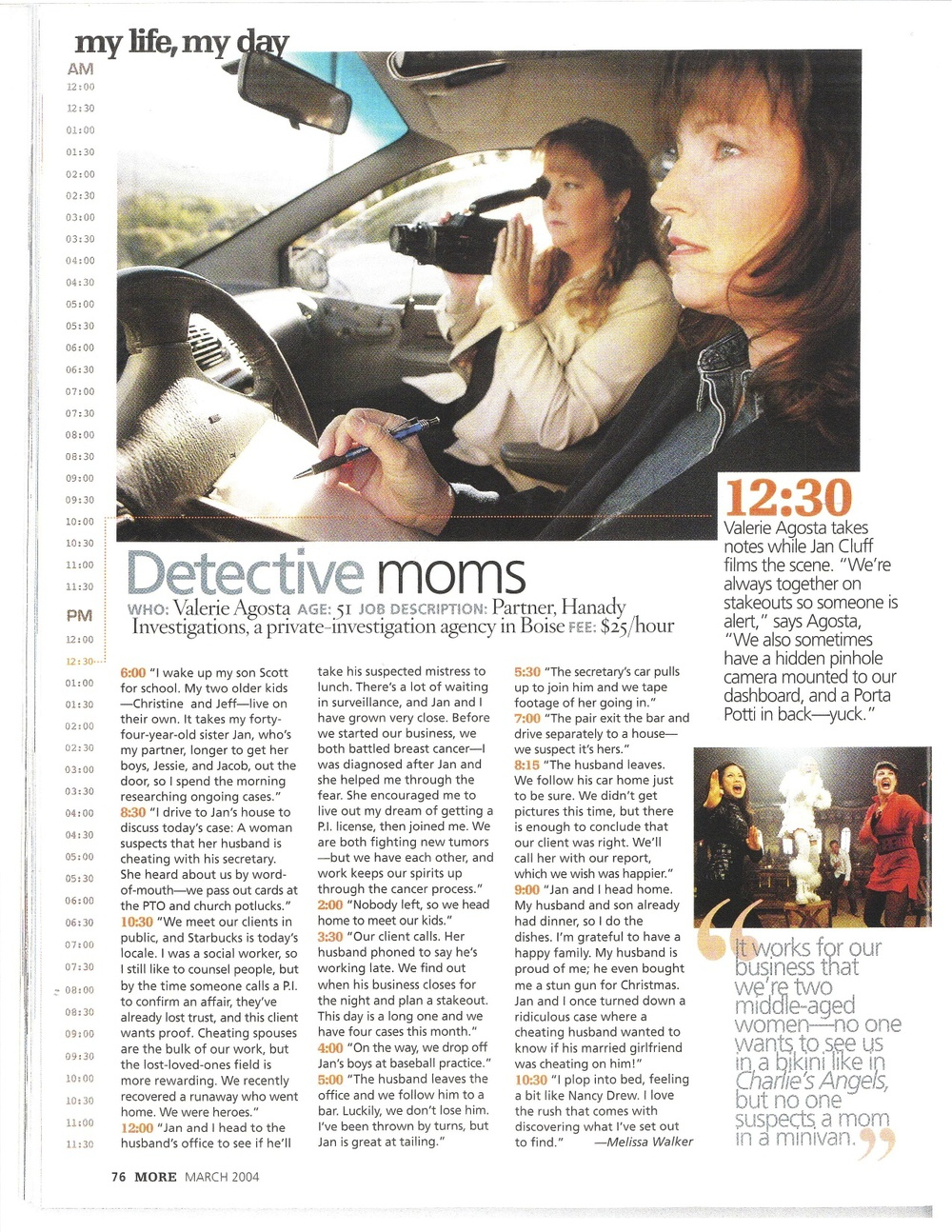 MORE Detective Moms