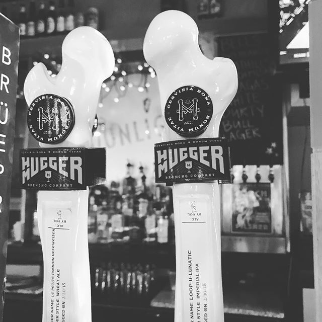 We are proud to be the only place in Raleigh to get Hugger Mugger beers! You might not of heard or this Sanford NC brewery yet but you will! You have to check out their Imperial IPA and Passion fruit Hefeweizen. Seriously you HAVE to try it