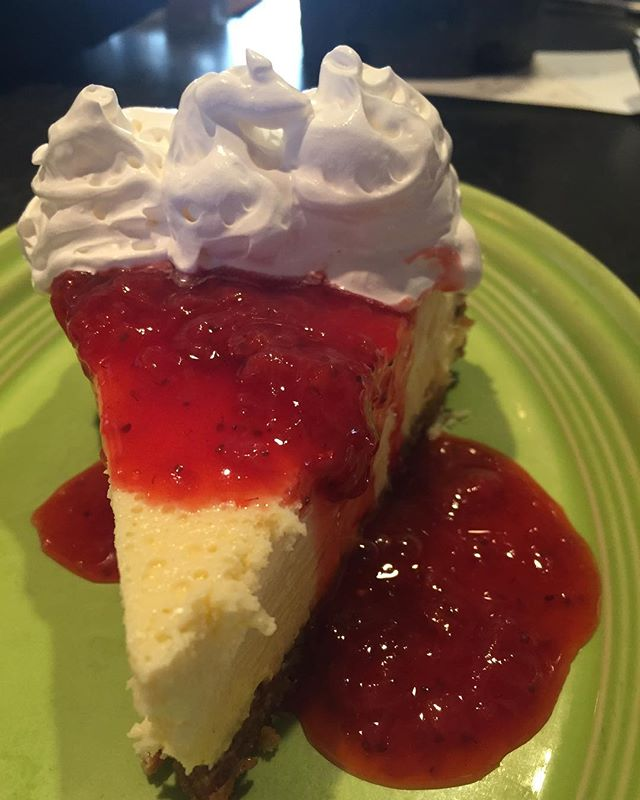 Come try our homemade, New York style lemon cheesecake for $8. It's delicious 😋  #moonlightpizzaco #cheesecake #dessert #friday #raleigh #raleigheats #919eats #eatlocal #dtr #dtraleigh #pizza #food