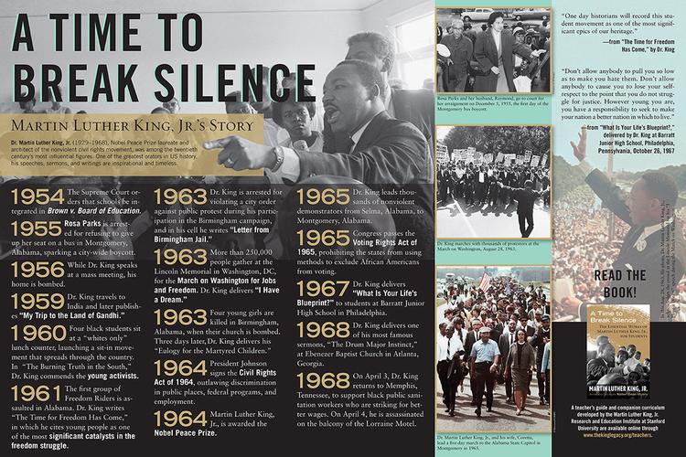 MLK History Poster — Gabi Anderson