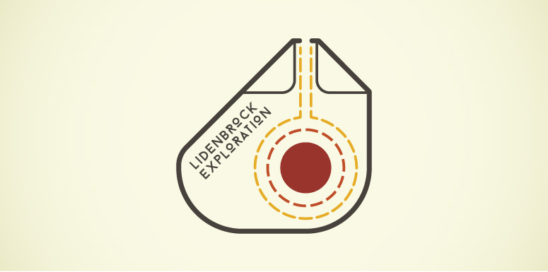 Lidenbrock Exploration: Full Colour Logo