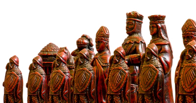 Model Factory's miniature models look nothing like this. These are chess pieces. But I'm sure you knew that.