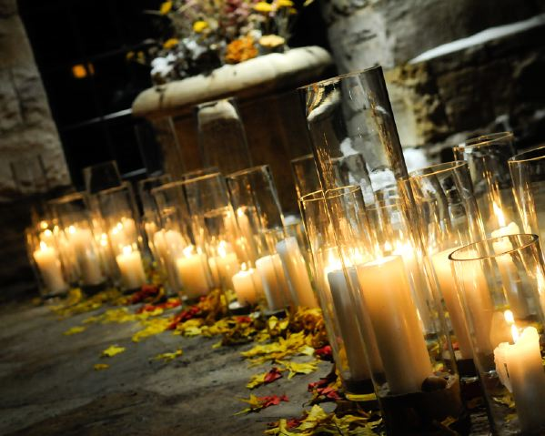 The Flower House Candles on the Aisle.jpg