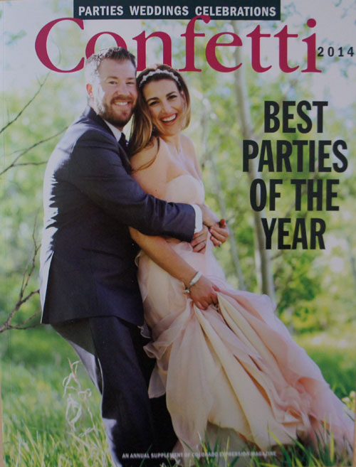 Featured in Confetti Magazine -  Best Parties of the Year 2011, 2012, 2013, 2014