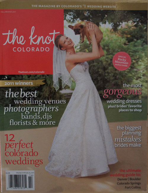 Featured in The Knot Colorado Magazine
