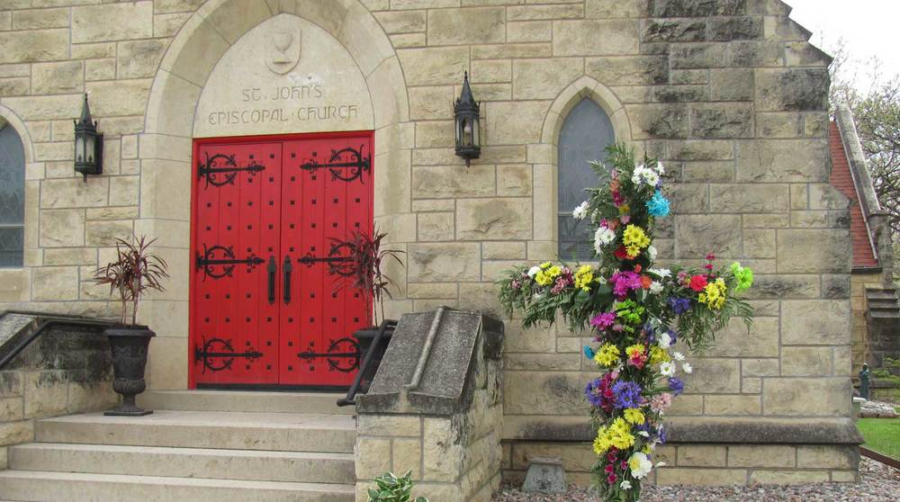 Flowering Cross