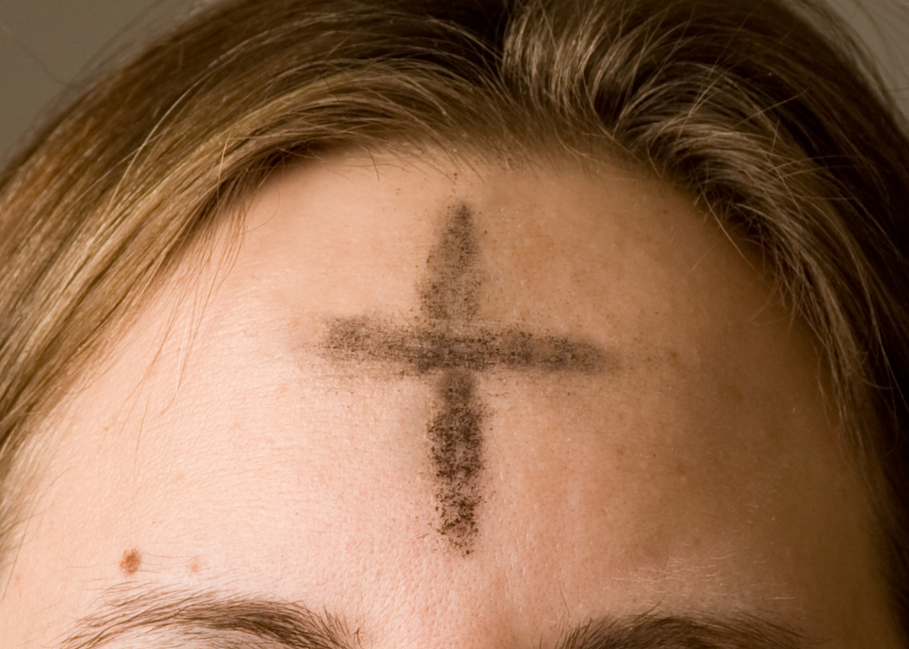 Ash Wednesday marks the beginning of Lent.