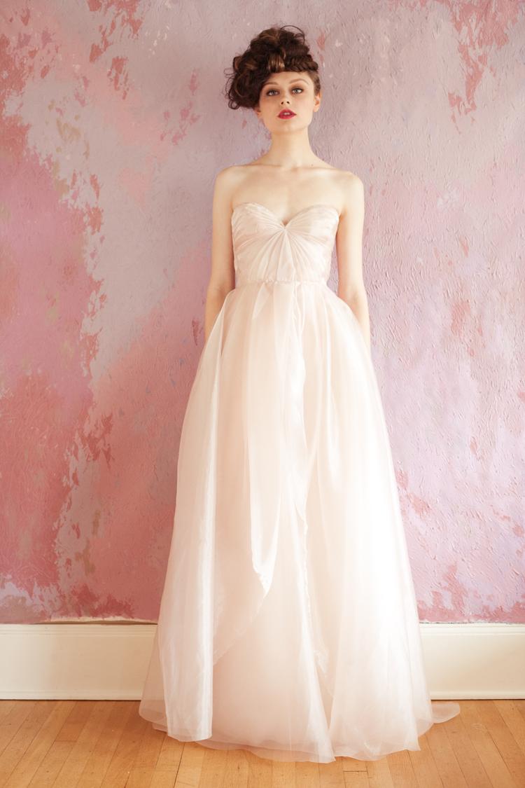 blushing gown