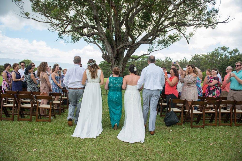 Sunset Ranch Hawaii Wedding