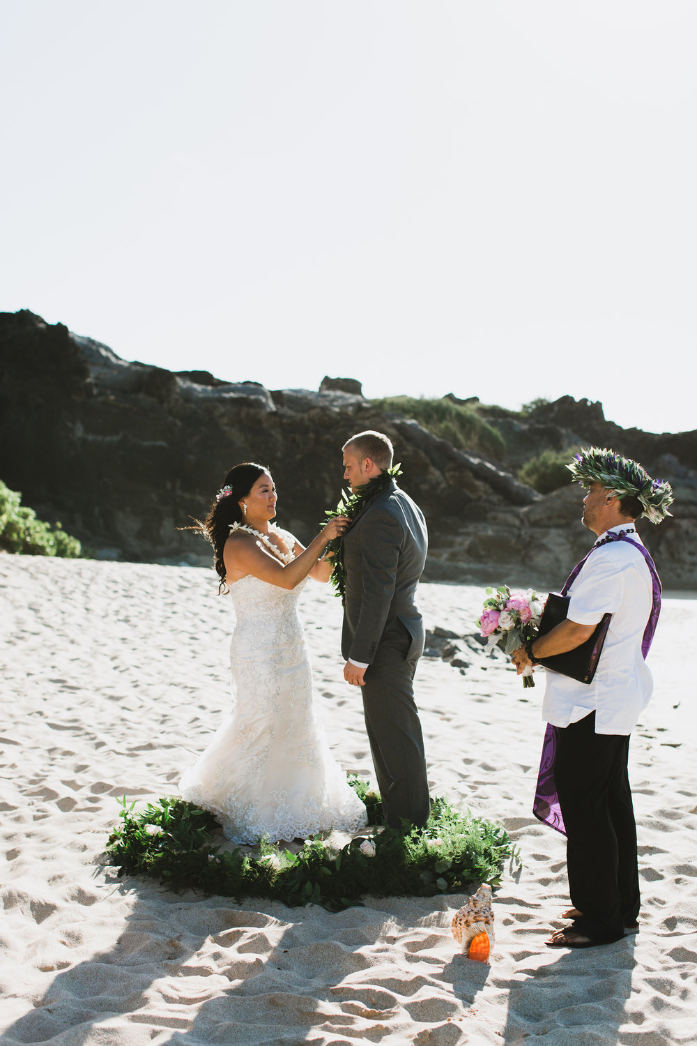 Tropical Maui Beach Wedding