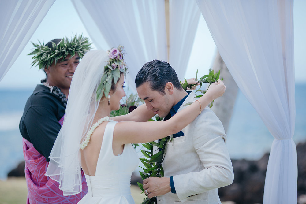 Intimate Maui Seaside Wedding
