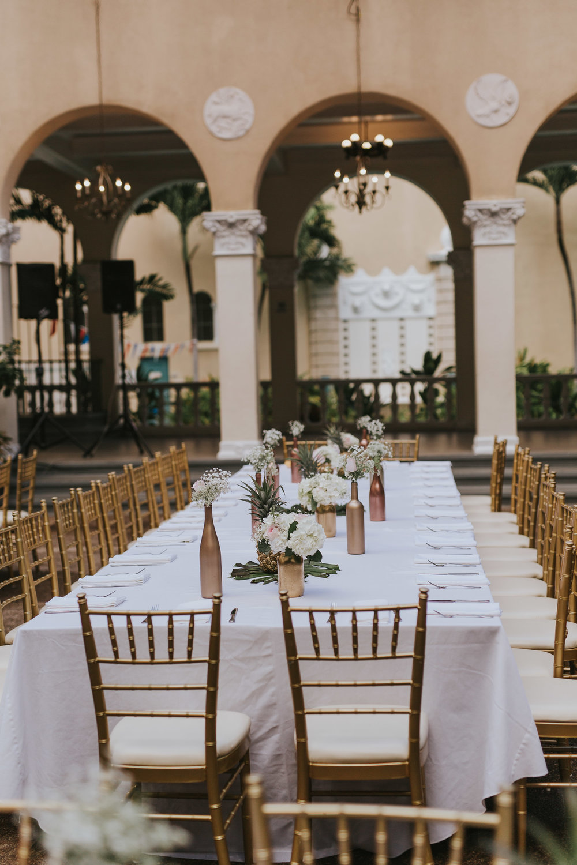 Hawaiian Wedding At Cafe Julia