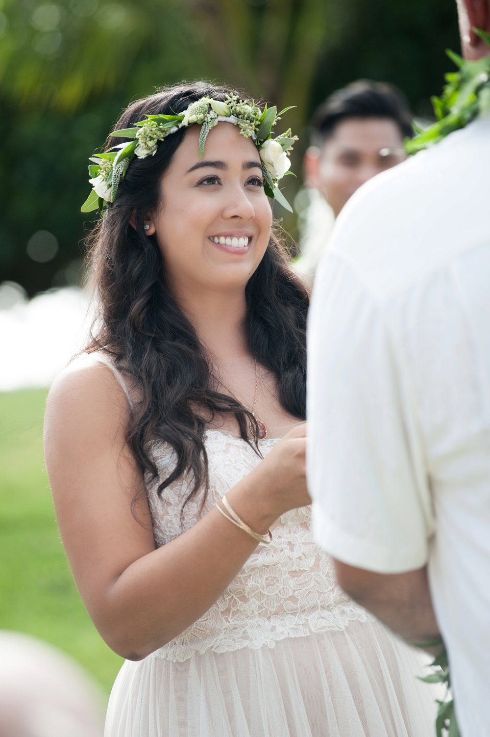 Wedding At Loulu Palm Estate Located On North Shore Oahu