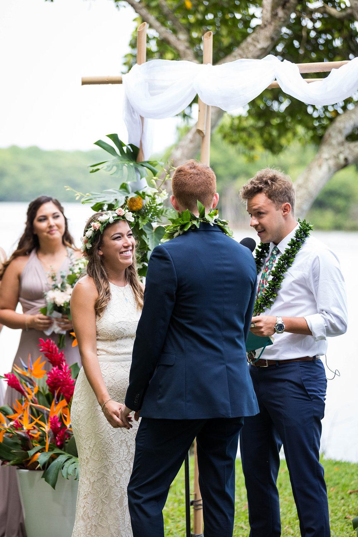 Molii Gardens Wedding At Kualoa Ranch