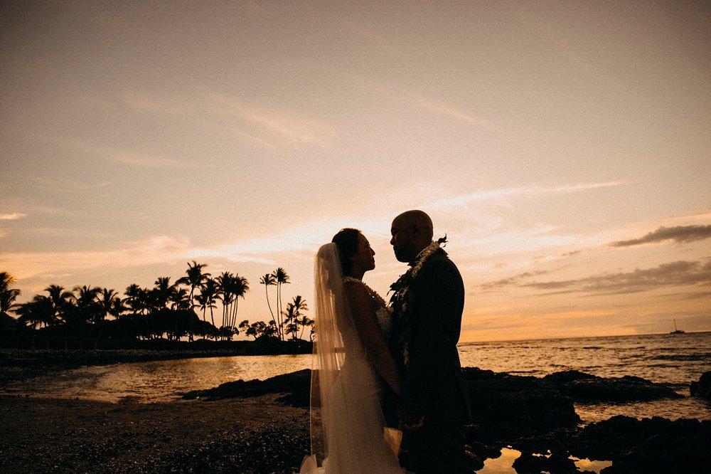 Fairmont Orchid Hawaii Wedding
