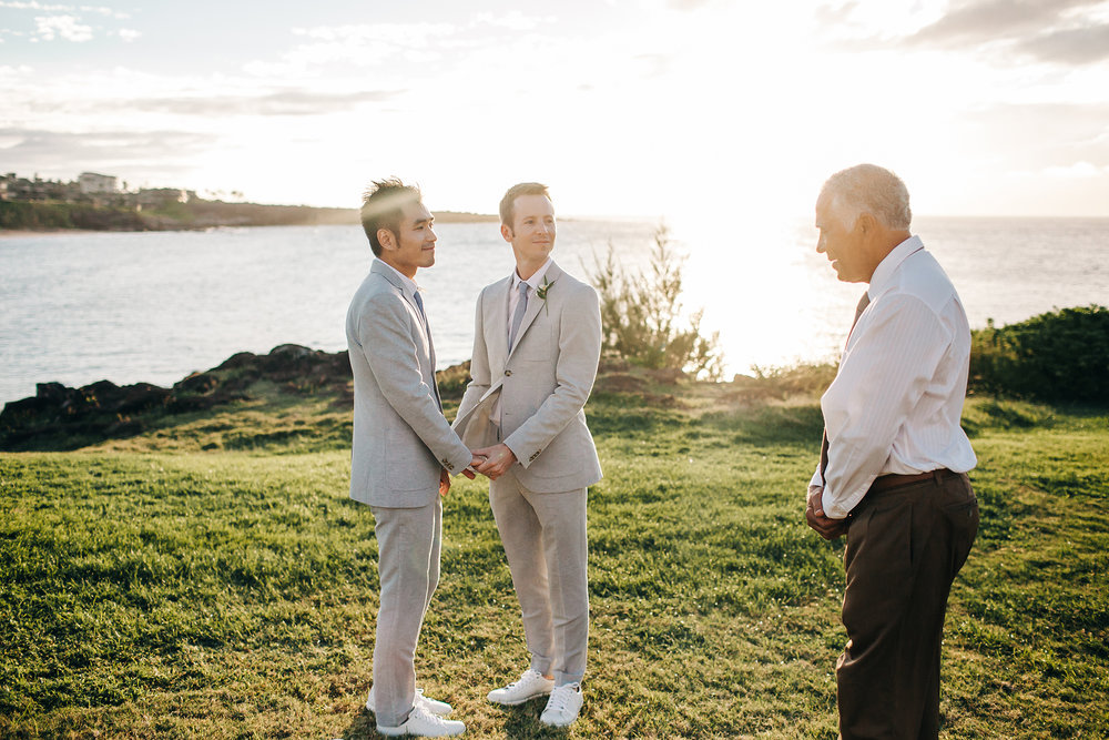 Same Sex Hawaii Wedding