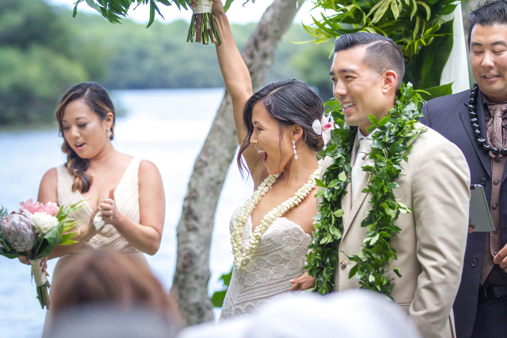 Hawaii Wedding At The World Famous Kualoa Ranch