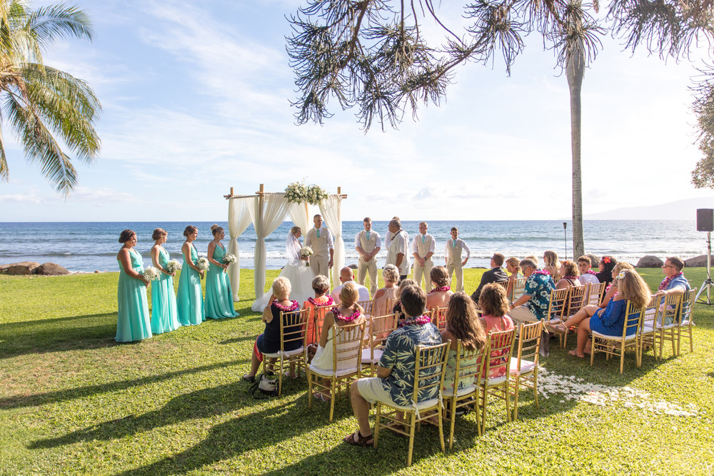 Maui Wedding At Olowalu Plantation House