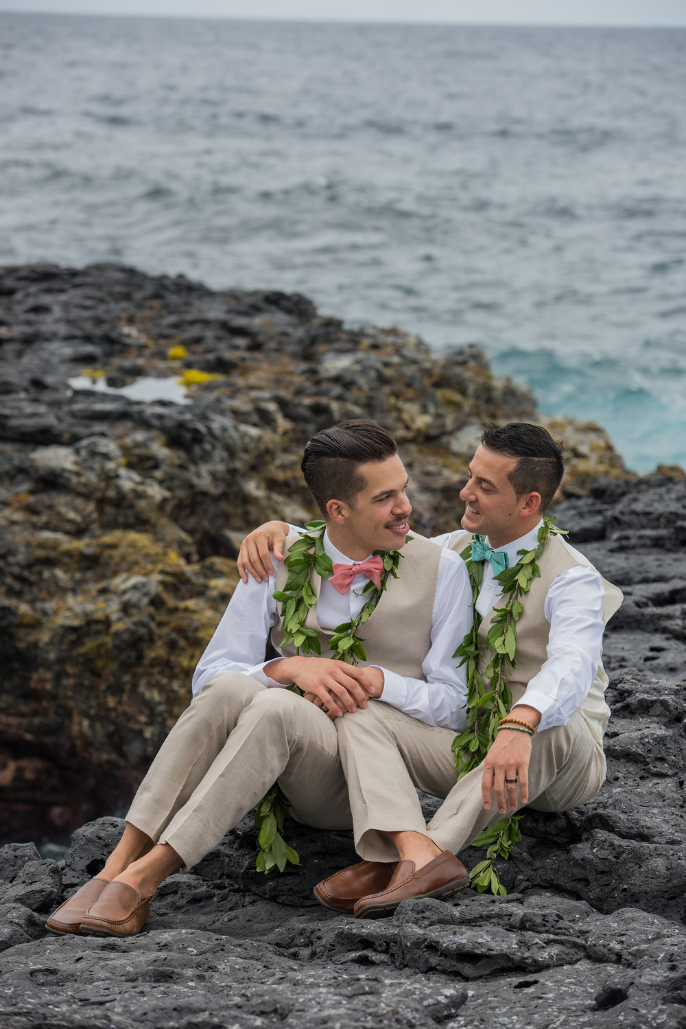 Secluded Oceanside Wedding In Hana Maui