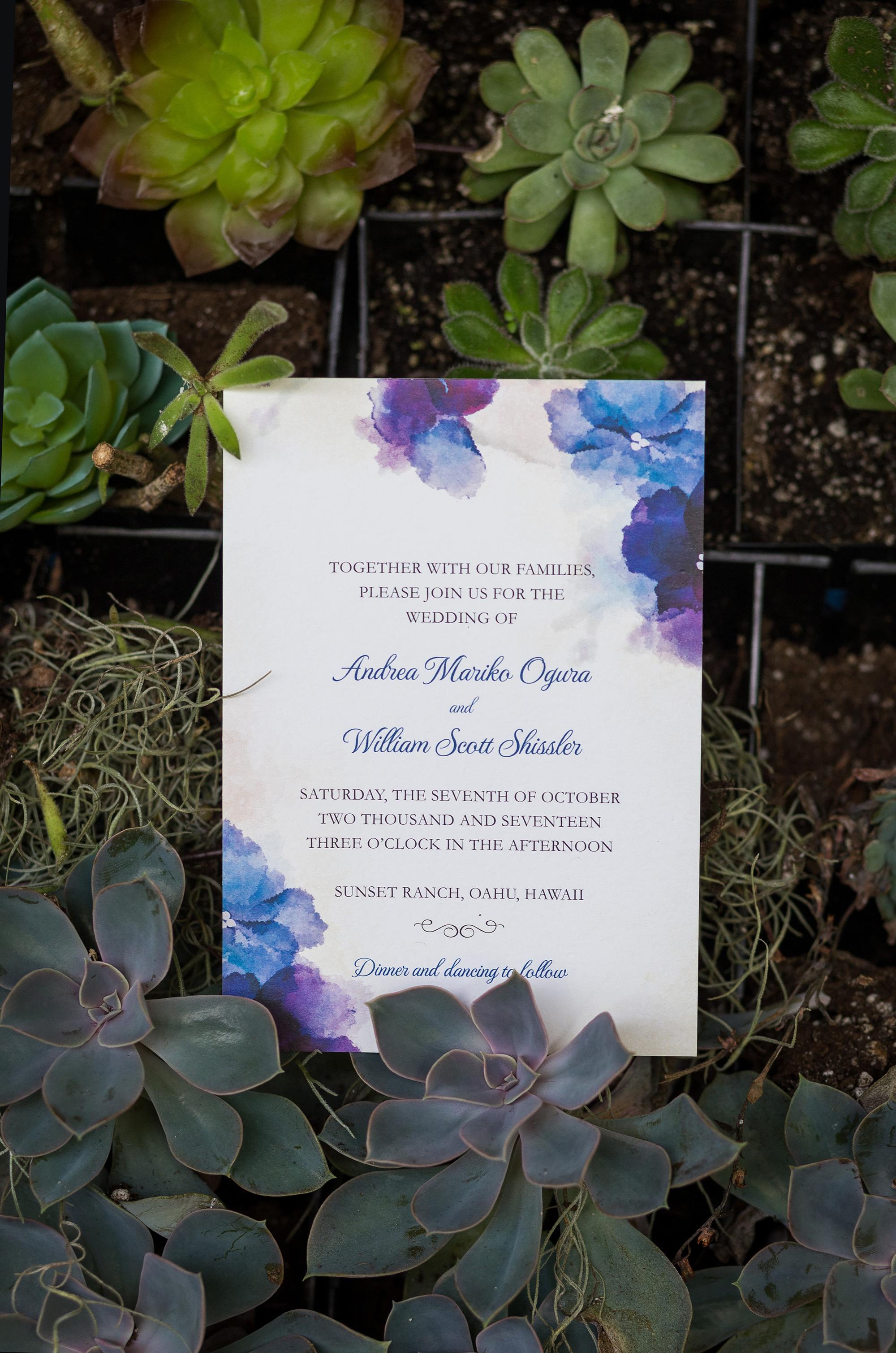 A Beautiful Blue Hawaii Wedding At Sunset Ranch — Hawaii Wedding Style