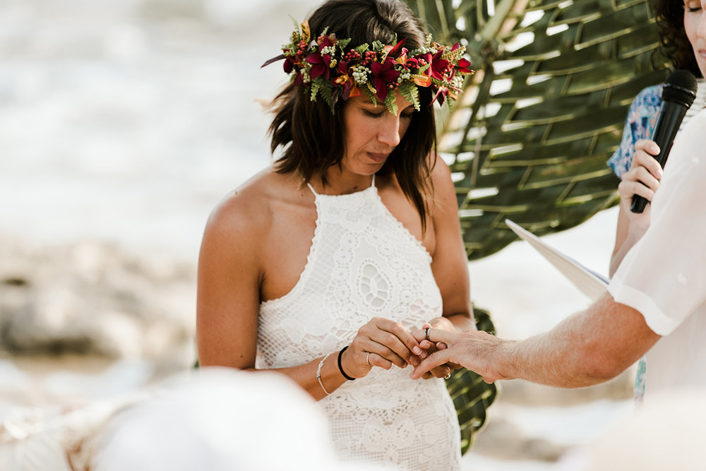 North Shore Oahu Wedding