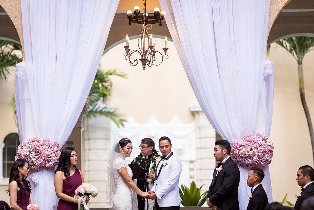 Oahu Downtown Wedding