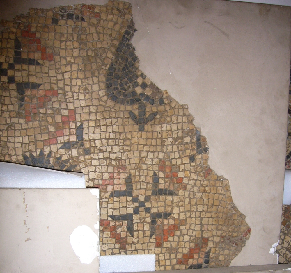 Portion of Mosaic Panel