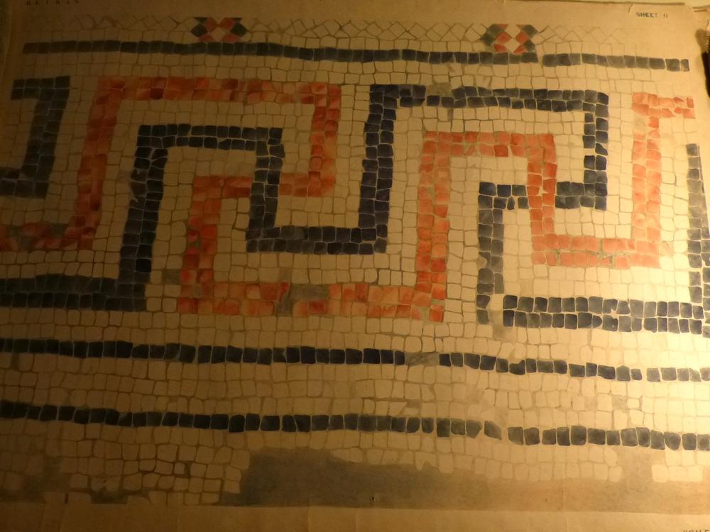 1:1 Drawing of Mosaic