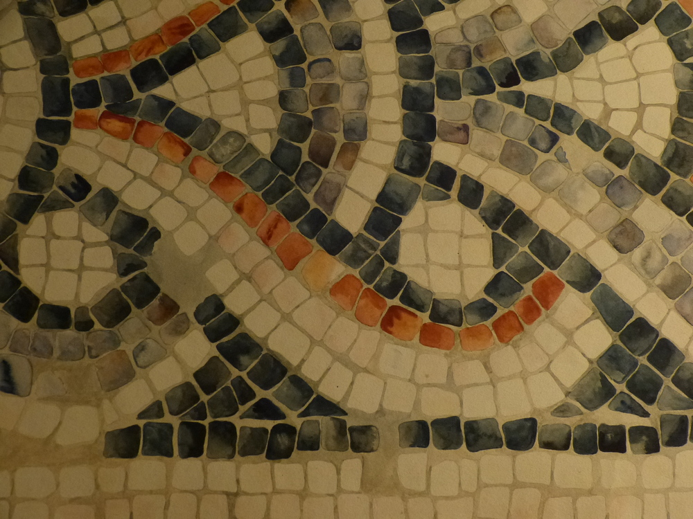 Detail of Mosaic Drawing