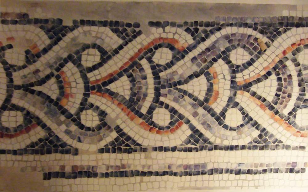 1:1 Mosaic Drawing