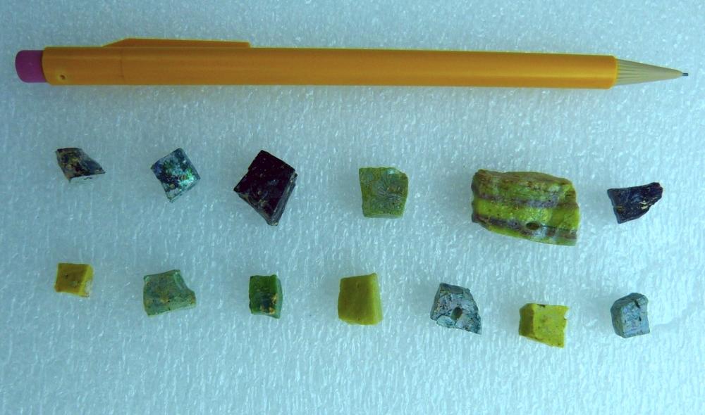 Glass tesserae
