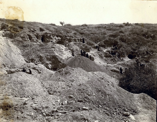 View from the northeast of the Northern Cemetery, dated 6 May 1922.