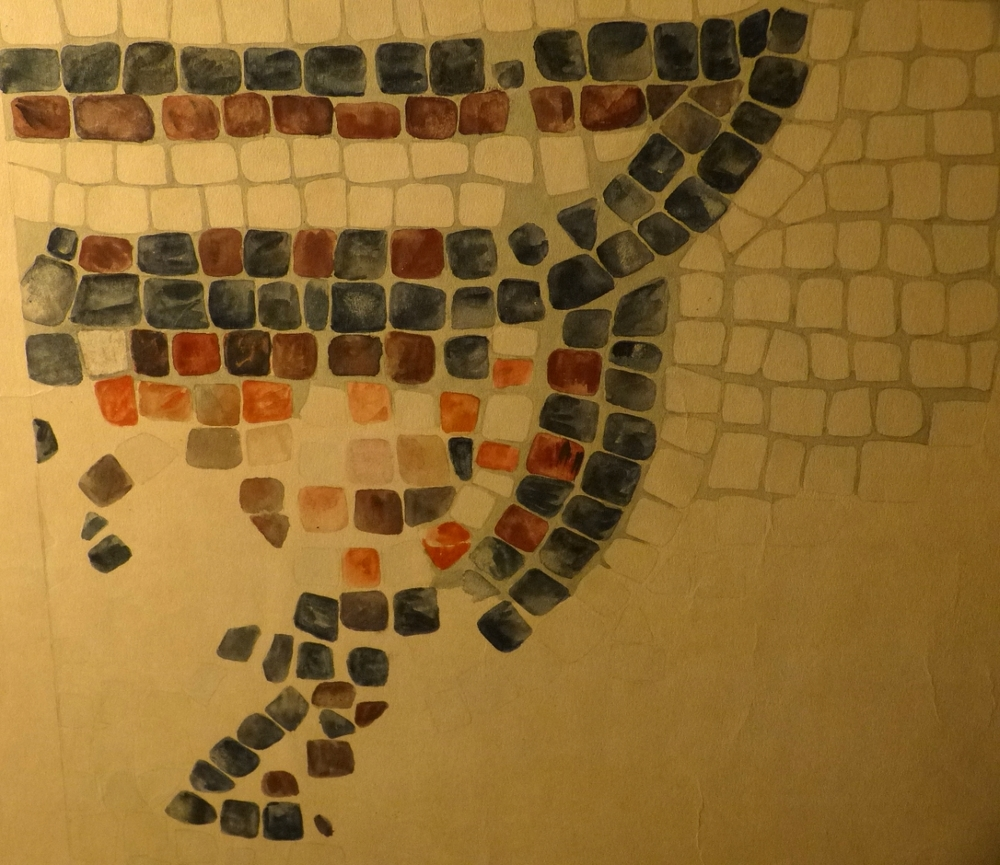 1:1 Scale Drawing of Mosaic