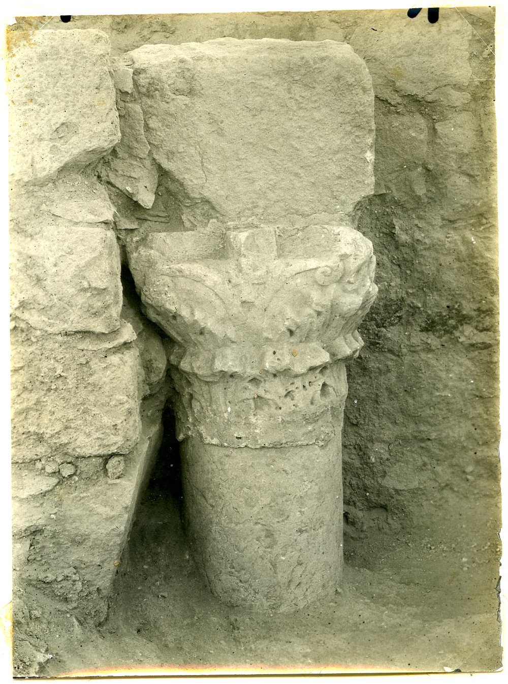 Byzantine column in secondary use