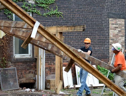 REbuild: exterior demolition