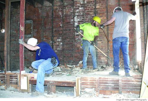 REbuild: interior demolition