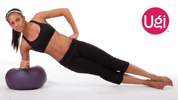 Side Plank on the Ugi Ball.