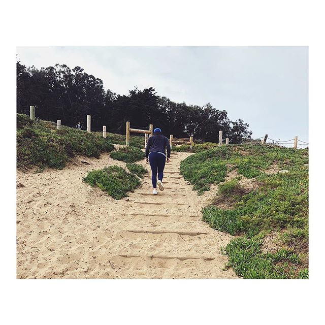 HIKE+CAMP! We're on again next Saturday, January 13 at 10 am. And yes...there will be sand stairs. You know the drill. 90 minutes of our body weight bootcamp combined with hiking and killer views. Bring a mat and water. Venmo $20 to @dynamofit to reserve your spot. Only 10 spots available. First camp of the year! Who's in?  #findthefitinyou